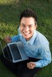 Homem novo bem sucedido Foto de Stock