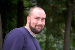 Homem novo com barba fotos de stock