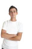 Homem novo confiável Foto de Stock Royalty Free