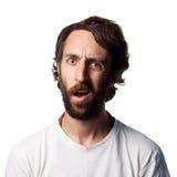 Homem novo confuso Imagens de Stock Royalty Free