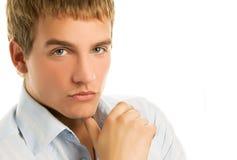 Homem novo considerável Fotografia de Stock