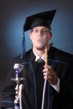 Homem novo da graduação Foto de Stock Royalty Free