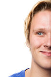 Homem novo de sorriso Imagem de Stock