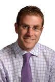 Homem novo de sorriso Imagens de Stock Royalty Free