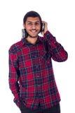 Homem novo de sorriso Imagens de Stock