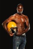 Homem novo do americano africano Fotografia de Stock