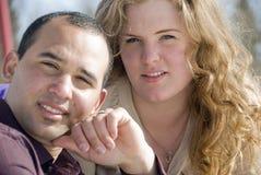 Homem novo e mulher Imagem de Stock Royalty Free