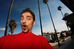 Homem novo em Califórnia Fotografia de Stock Royalty Free