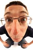 Homem novo engraçado Fotos de Stock
