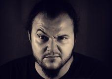 Homem novo enojado Fotos de Stock