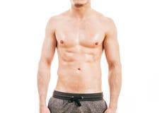 Homem novo muscular Imagem de Stock Royalty Free
