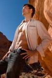 Homem novo 'sexy' Foto de Stock Royalty Free