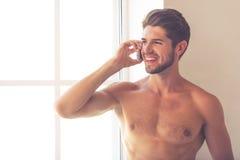 Homem novo 'sexy' Fotografia de Stock Royalty Free