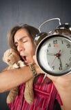 Homem novo sonolento Imagens de Stock Royalty Free