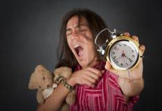 Homem novo sonolento Fotografia de Stock