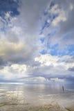 Homem & o mar Fotos de Stock