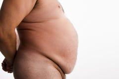 Homem obeso Imagem de Stock