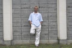 Homem ocasional Foto de Stock Royalty Free
