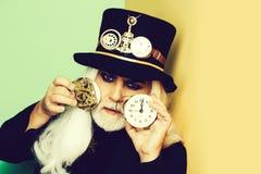 Homem ou relojoeiro farpado superior imagens de stock royalty free