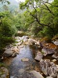 Valley of the Homem river, Peneda-Gerês national park in northern Portugal. The Homem is a Portuguese river, a tributary of the right bank of the Cávado, with Stock Photography