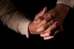 Homem Praying Imagem de Stock Royalty Free