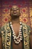 Homem que desgasta a roupa africana tradicional. Imagem de Stock Royalty Free