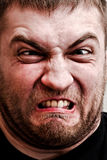 Homem que faz a face estúpida Foto de Stock