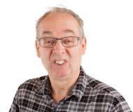 Homem que faz um gracejo Fotos de Stock Royalty Free