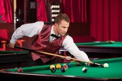 Homem que joga a associação. Fotografia de Stock Royalty Free