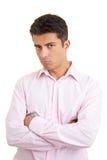 Homem que sulking fotos de stock