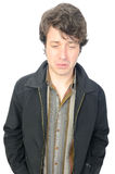 Homem que Sulking Imagem de Stock Royalty Free