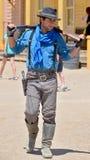 Homem que veste a roupa tradicional do vaqueiro Imagem de Stock Royalty Free