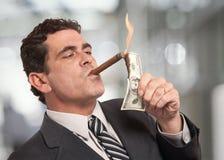 Homem rico Imagens de Stock Royalty Free