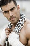 Homem rude 'sexy' Imagens de Stock Royalty Free