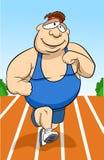 Homem Running Fotografia de Stock
