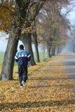 Homem Running Fotos de Stock Royalty Free
