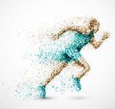 Homem running Foto de Stock