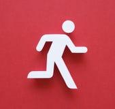 Homem running Imagens de Stock