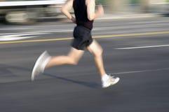Homem Running imagem de stock