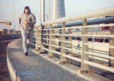 Homem running do atleta fotos de stock royalty free