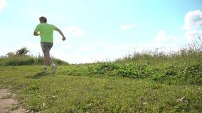 Homem Running vídeos de arquivo