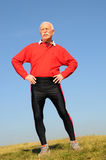 Homem sênior atlético Foto de Stock Royalty Free
