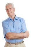 Homem sênior de sorriso Imagem de Stock