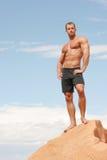 Homem 'sexy' do construtor de corpo Imagens de Stock Royalty Free