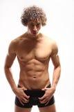 Homem 'sexy' do muscula imagens de stock royalty free