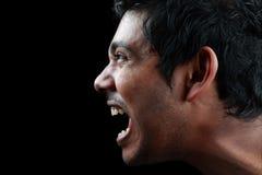 Homem Shouting Fotografia de Stock