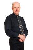 Homem sênior do smiley Imagens de Stock Royalty Free