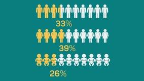 Homem social dos meios infographic ilustração do vetor