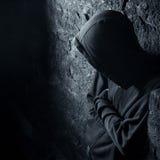 Homem solitário Fotografia de Stock Royalty Free