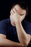 Homem sonolento Imagens de Stock Royalty Free